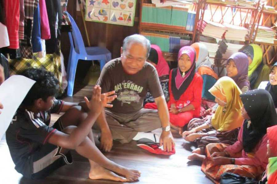 Visit to Phum Trea, Cambodia 2010