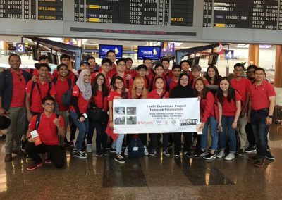 Temasek Polytechnic Youth Expedition Project Mar-Apr 2018